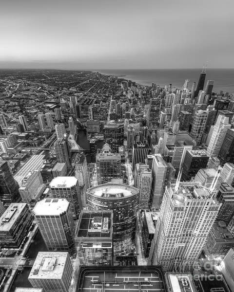 Wall Art - Photograph - Chicago From Above by Twenty Two North Photography