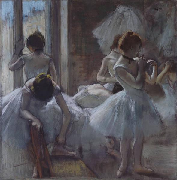 Painting - Dancers by Edgar Degas
