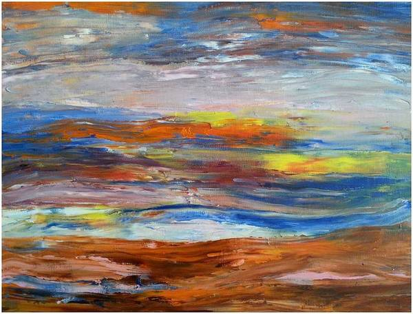 Painting - #19 Earth First by Cheryl Nancy Ann Gordon