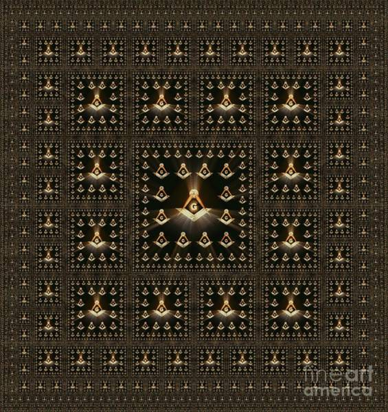 Freemason, Masonic, Symbols Art Print