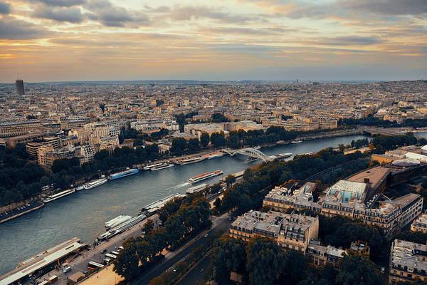 Wall Art - Photograph - Paris Rooftop by Songquan Deng