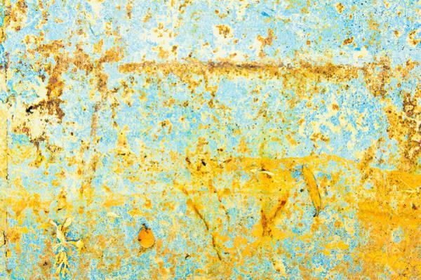 Wall Art - Photograph - Rusty Metal by Tom Gowanlock