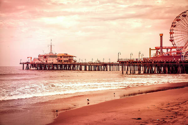 Photograph - Santa Monica Pier Collection- 22/36 by Gene Parks