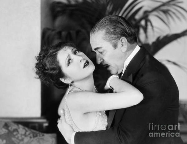 Flk Photograph - Silent Film Still: Couples by Granger