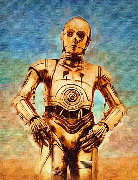 R2-d2 Digital Art - Star Wars Galactic Heroes Poster by Larry Jones