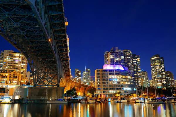Photograph - Vancouver False Creek  by Songquan Deng