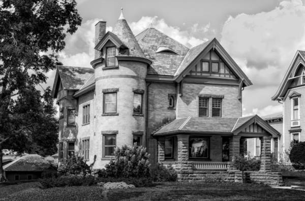 Queen Anne Style Photograph - 1906 Hiram W Carey House - 2 by Frank J Benz
