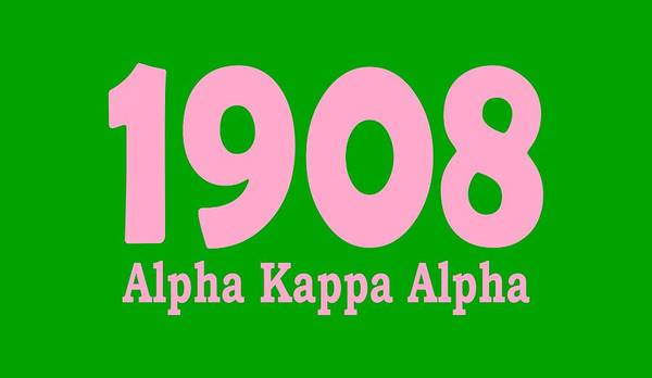 Wall Art - Digital Art - 1908 Alpha Kappa Alpha  by Sincere Taylor