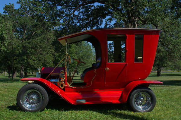 Photograph - 1909 Ford Model T Limo Custom Hot Rod by Tim McCullough