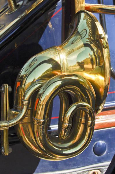 Photograph - 1910 Pope Hartford T Brass Horn by Jill Reger