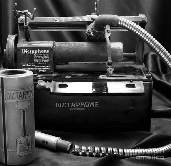 Photograph - 1912 Dictaphone  by Ricky L Jones