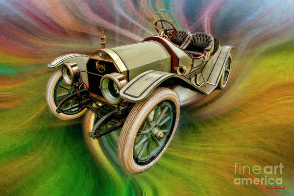 1912 Moon 30 Raceabout Art Print