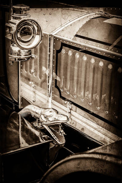Photograph - 1912 Rolls-royce Silver Ghost Rothchild Et Fils Style Limousine Snake Horn -0711s by Jill Reger