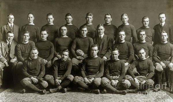 Ohio State Football Photograph - 1913 Michigan Wolverines Football Team by Jon Neidert