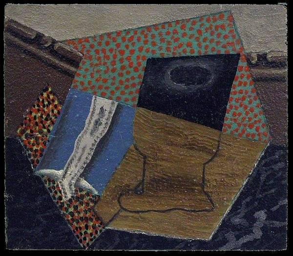Et Digital Art - 1914 Verre Et Paquet De Taba 1 by Mery Moon