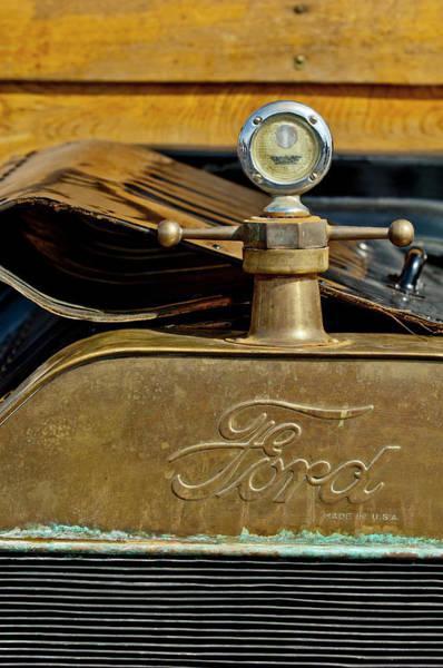 Photograph - 1915 Ford Depot Hack Hood Ornament  by Jill Reger