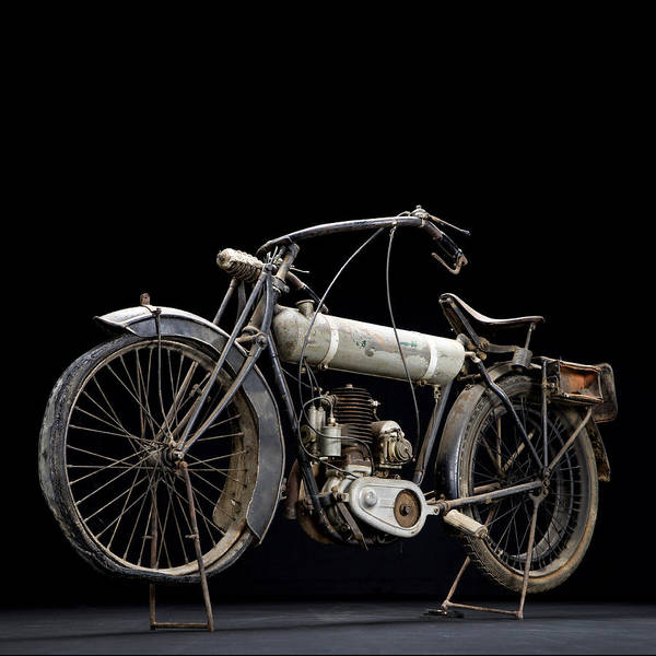 Photograph - 1917 Triumph Model H by Keith May