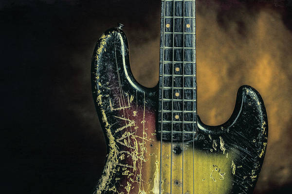 Photograph - 19.1834 011.1834c Jazz Bass 1969 Old 69 by M K Miller