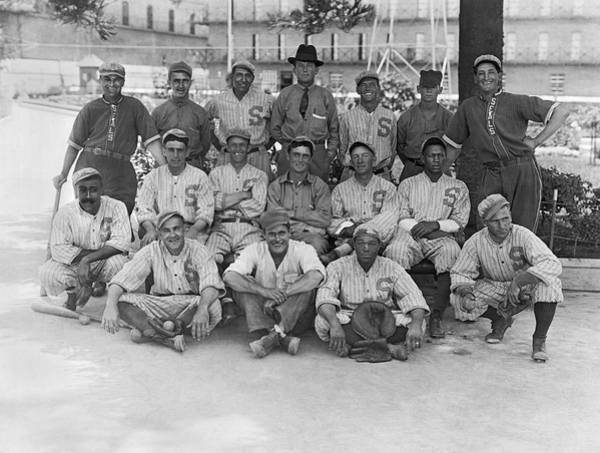 Photograph - 1919 San Francisco Seals Team by Underwood Archives