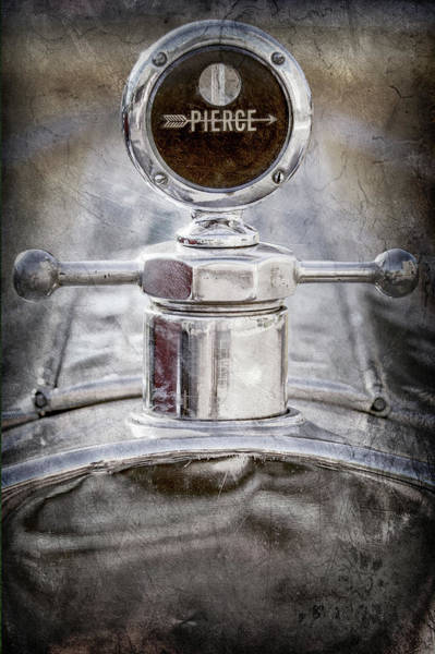 Wall Art - Photograph - 1920 Pierce-arrow Model 48 Coupe Hood Ornament -2829ac by Jill Reger