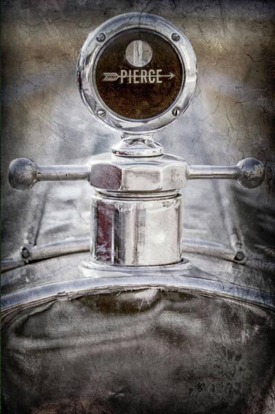 Photograph - 1920 Pierce-arrow Model 48 Coupe Hood Ornament -2829ac by Jill Reger