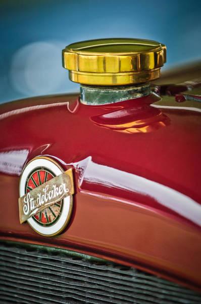 Photograph - 1920 Studebaker Eg Big-six Sedan Hood Emblem by Jill Reger