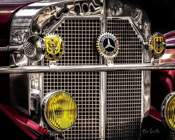 Photograph - 1920's Mercedes Benz Ssk by Bob Orsillo