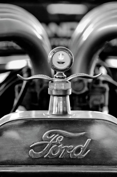Hoodie Photograph - 1923 Ford Hood Ornament 2 by Jill Reger