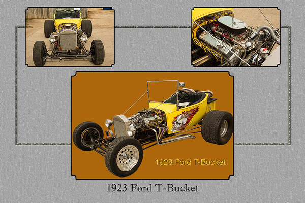 T-bucket Photograph - 1923 Ford T-bucket Vintage Classic Car Photograph 5690.02 by M K Miller