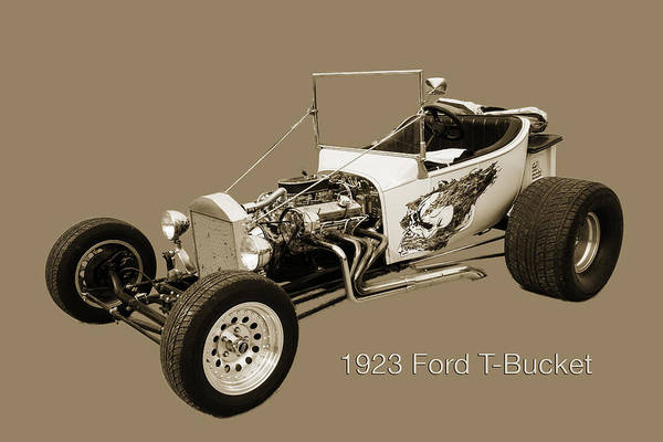 T-bucket Photograph - 1923 Ford T-bucket Vintage Classic Car Photograph 5696.01 by M K Miller