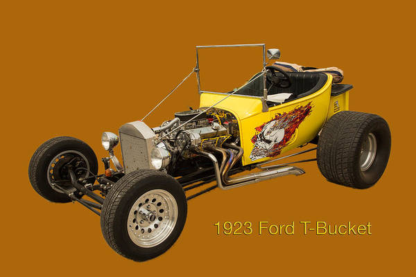 T-bucket Photograph - 1923 Ford T-bucket Vintage Classic Car Photograph 5696.02 by M K Miller