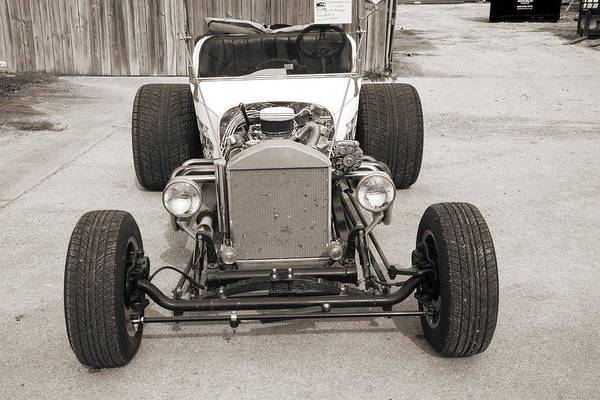 T-bucket Photograph - 1923 Ford T-bucket Vintage Classic Car Photograph 5697.01 by M K Miller