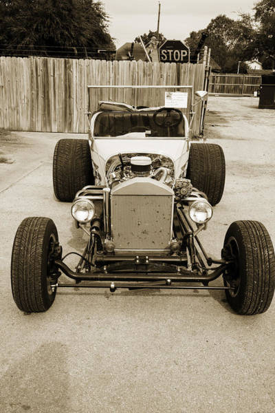 T-bucket Photograph - 1923 Ford T-bucket Vintage Classic Car Photograph 5698.01 by M K Miller