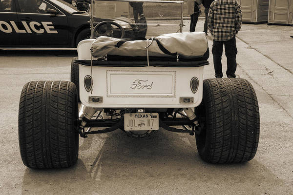 T-bucket Photograph - 1923 Ford T-bucket Vintage Classic Car Photograph 5704.01 by M K Miller
