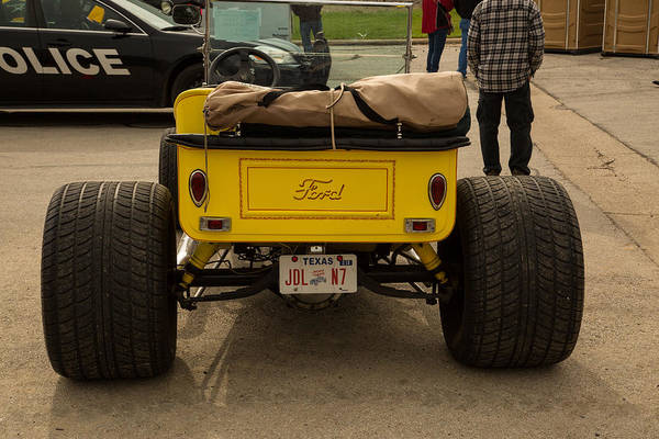 T-bucket Photograph - 1923 Ford T-bucket Vintage Classic Car Photograph 5704.02 by M K Miller