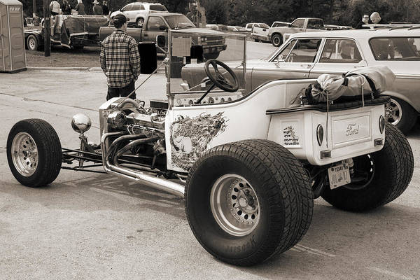 T-bucket Photograph - 1923 Ford T-bucket Vintage Classic Car Photograph 5705.01 by M K Miller