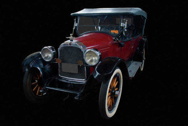 Photograph - 1923 Willys Knight Model 67 Touring Car Digital Oil by Chris Flees