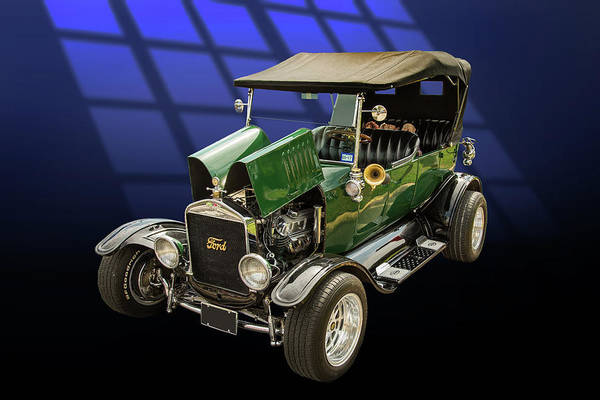 Photograph - 1924 Ford Model T Touring Hot Rod 5509.002 by M K Miller