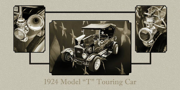 Photograph - 1924 Ford Model T Touring Hot Rod 5509.201 by M K Miller