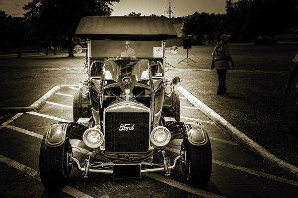 Digital Art - 1924 Ford Model T Touring Hot Rod 5509.206 by M K Miller