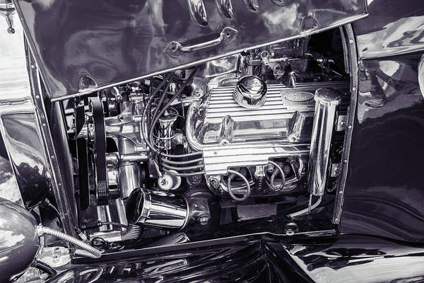 Photograph - 1924 Ford Model T Touring Hot Rod 5509.208 by M K Miller