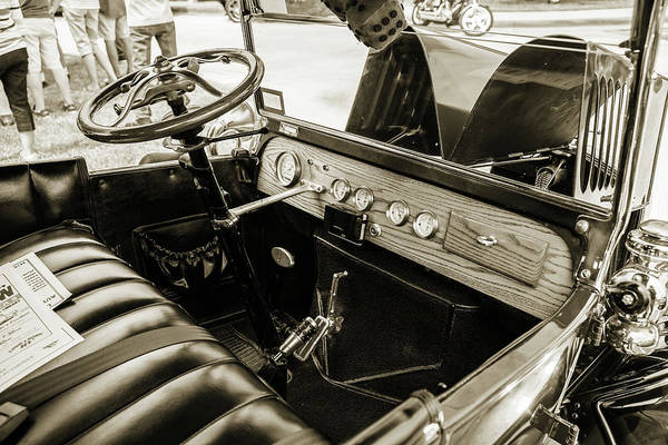 Photograph - 1924 Ford Model T Touring Hot Rod 5509.211 by M K Miller