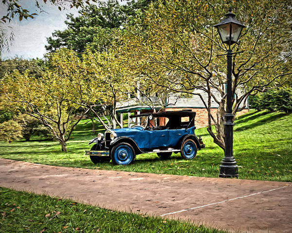 Photograph - 1924 Hupmobile R Special Roadster by Susan Rissi Tregoning