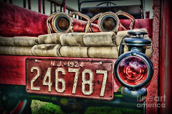 Wall Art - Photograph - 1924 Vintage Fire Truck by Paul Ward
