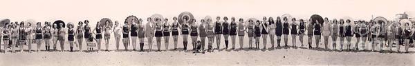 Wall Art - Photograph - 1925 California Bathing Suit Contest  by Jon Neidert