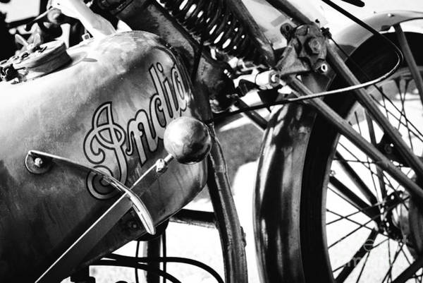 Photograph - 1925 Indian Motorcycle by Tim Gainey