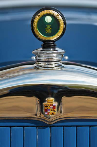Photograph - 1926 Cadillac Series 314 Custom Hood Ornament by Jill Reger