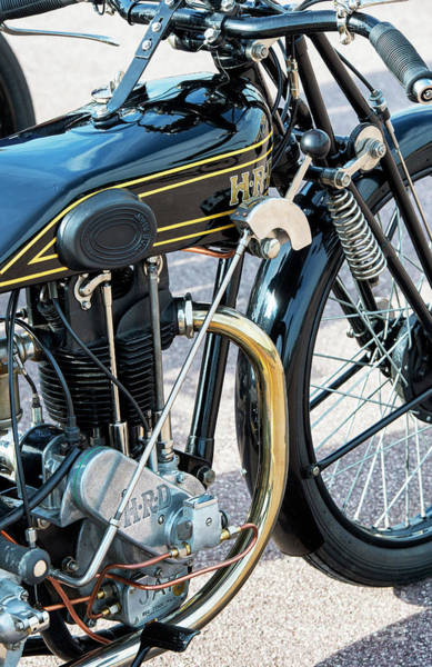 Photograph - 1926 Hrd Motorcycle by Tim Gainey