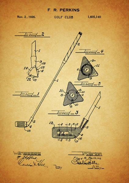 Drawing - 1926 Perkins Golf Club by Dan Sproul
