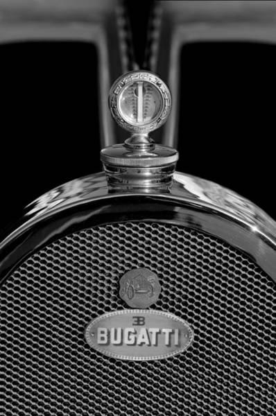 Photograph - 1927 Bugatti Replica Hood Ornament 3 by Jill Reger